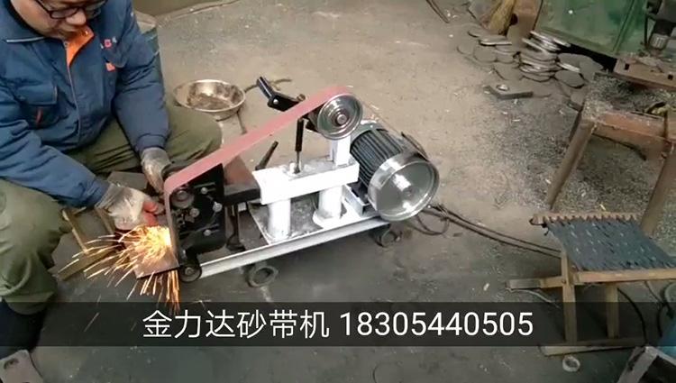 砂带机视频案例JLD10-6P-1